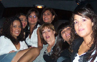 Limo hire for Birthday Party